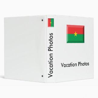 """Joya de la bandera de Burkina Faso Carpeta 1"""""""