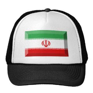 Joya de la bandera de Irán Gorra