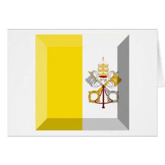Joya de la bandera de la Ciudad del Vaticano Tarjetas