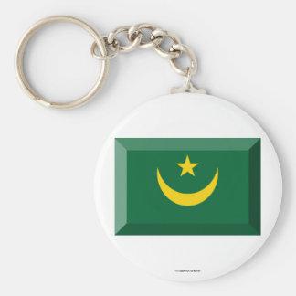 Joya de la bandera de Mauritania Llaveros Personalizados