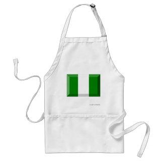 Joya de la bandera de Nigeria Delantales