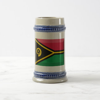 Joya de la bandera de Vanuatu Tazas