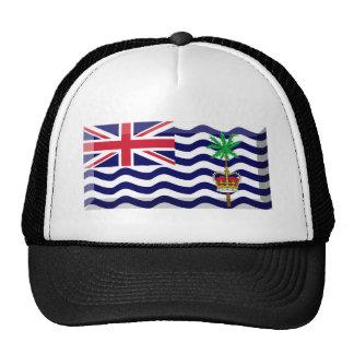 Joya de la bandera del territorio del Océano Índic Gorras