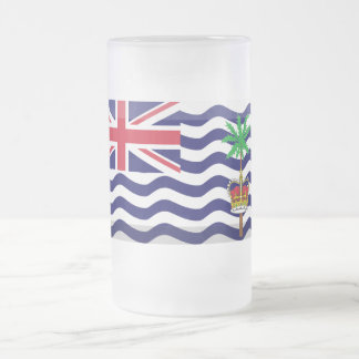 Joya de la bandera del territorio del Océano Taza De Cristal