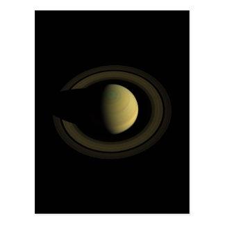 Joya de Saturn del planeta de la Sistema Solar Tarjetas Postales