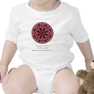 Joya rosada bonita traje de bebé