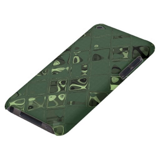 Joya verde - modelo tejado iPod touch Case-Mate fundas