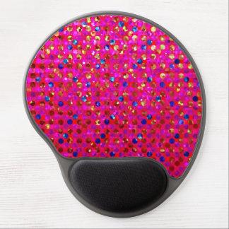 Joyas de la chispa de los lunares de Mousepad del Alfombrillas De Raton Con Gel