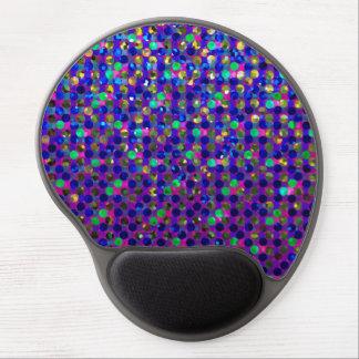 Joyas de la chispa de los lunares de Mousepad del Alfombrilla Con Gel
