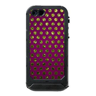 joyas de la chispa de los lunares del caso del funda para iPhone 5 incipio ATLAS ID