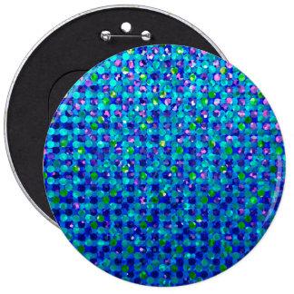Joyas de la chispa del lunar del botón pin redondo de 6 pulgadas