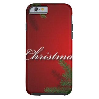 Joyas de las Felices Navidad Funda De iPhone 6 Tough