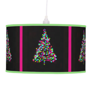 Joyas del árbol de navidad con el ajuste verde