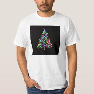Joyas del árbol de navidad playera