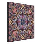 Joyas exóticas impresión en lienzo estirada