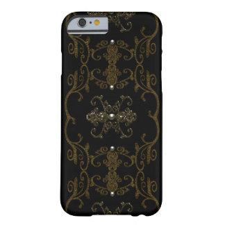 Joyas góticas de la elegancia del vintage funda de iPhone 6 barely there