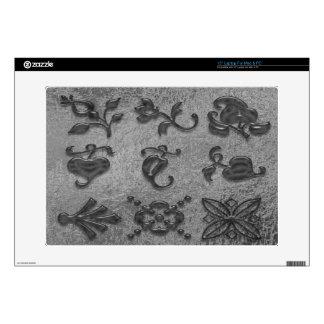Joyas negras de la belleza Art101 38,1cm Portátil Calcomanía