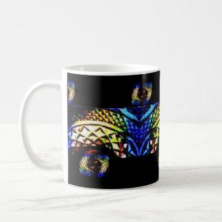 Joyas ricas profundas de cristal taza de café