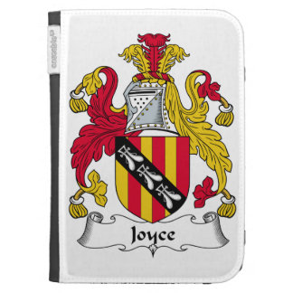 Joyce Family Crest Kindle 3 Cover