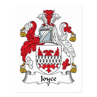 Joyce Family Crest Postcard