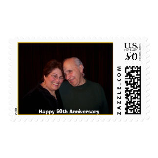 Joyce & Joe current, Happy 50th Anniversary Postage