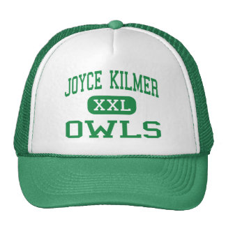 Joyce Kilmer - búhos - alternativa - Milwaukee Gorro De Camionero