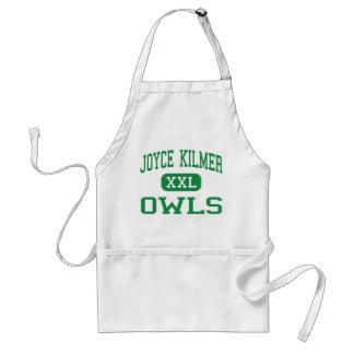 Joyce Kilmer - Owls - Alternative - Milwaukee Adult Apron