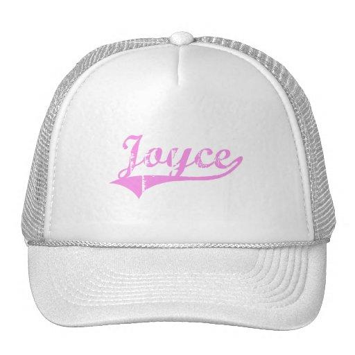 Joyce Last Name Classic Style Hat