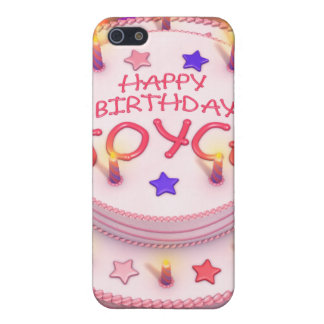 Joyce's Birthday Cake Cover For iPhone 5