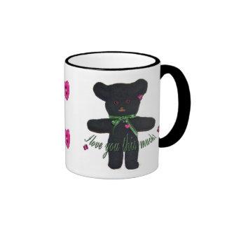 Joyce's Teddy Bearette Ringer Mug
