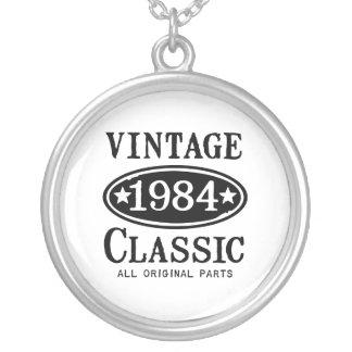 Joyería 1984 de la obra clásica del vintage