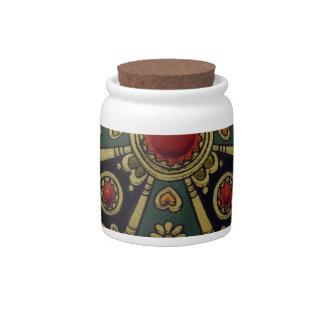 Joyería africana del norte tradicional jarras para caramelos