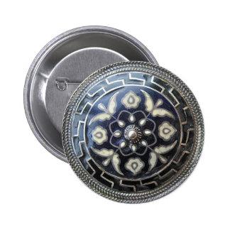 Joyería antigua - botón de la broche del Pin de la