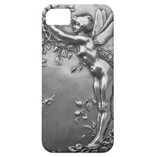 Joyería antigua de hadas de plata del vintage de iPhone 5 coberturas