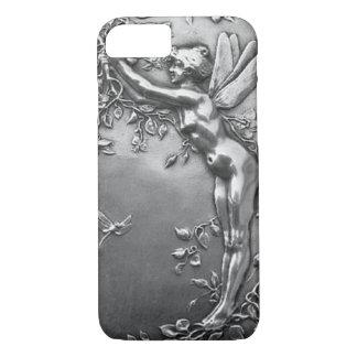 Joyería antigua de hadas de plata del vintage de funda iPhone 7