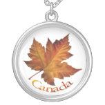 Joyería clásica del recuerdo de Canadá del collar