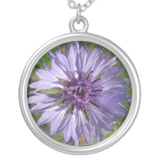 Joyería - collar - BTN de la lila/del soltero púrp