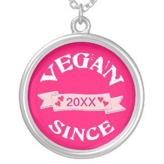Joyería de encargo del vegano
