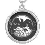 Joyería del arte del cuervo y del cuervo del regal