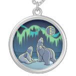 Joyería del arte del oso nativo del collar del art
