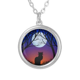 Joyería del gato del collar del encanto del amante
