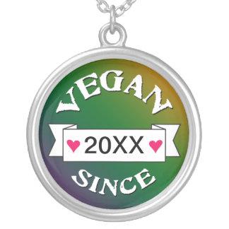 Joyería del mensaje del vegano