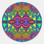 Joyería divina pegatina redonda