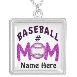 Joyería personalizada del béisbol para las mamáes