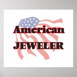 Joyero americano póster