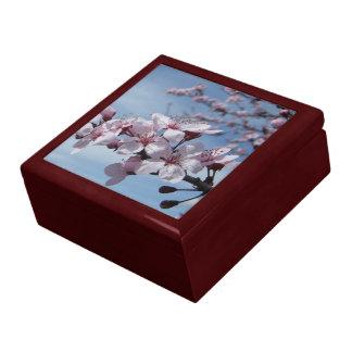 Joyero de la caoba de la flor de cerezo del zen