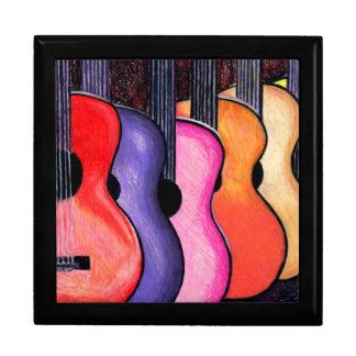 Joyero de la guitarra cajas de regalo