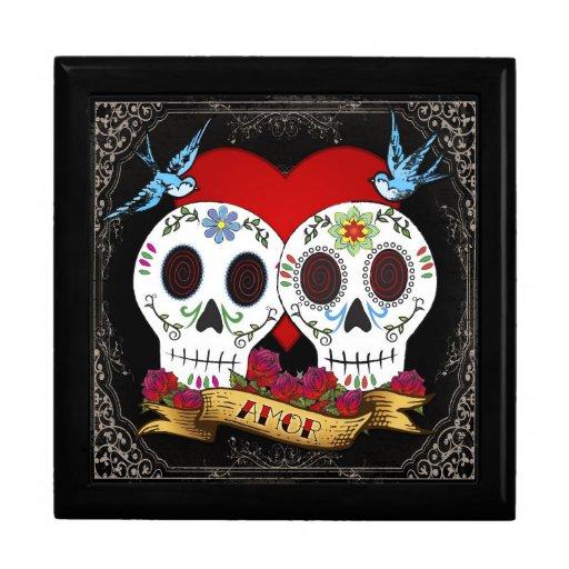 Joyero de los cráneos del amor