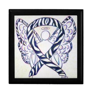 Joyero del ángel de la cinta de la conciencia de