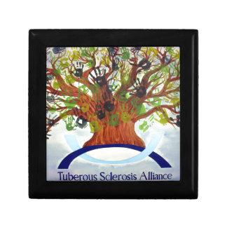Joyero del árbol de familia del CAC - 5 5 Caja De Joyas